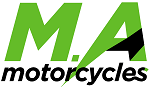 m. a. motorcycles ltd.  logo