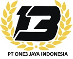 PT.ONE3 Jaya Indonesia VAT no. 82.556.350.5-452.000 logo