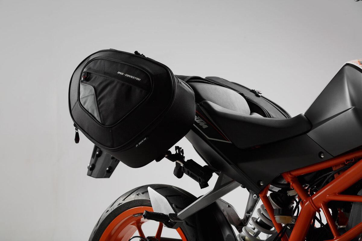 Safe saddlebags BLAZE for KTM 125/200/390 Duke, by SW-MOTECH