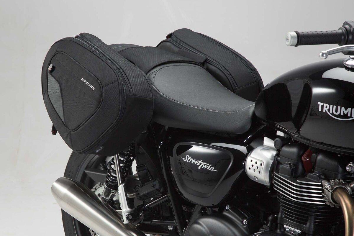 Safe Saddlebags Blaze For Triumph Models By Sw Motech