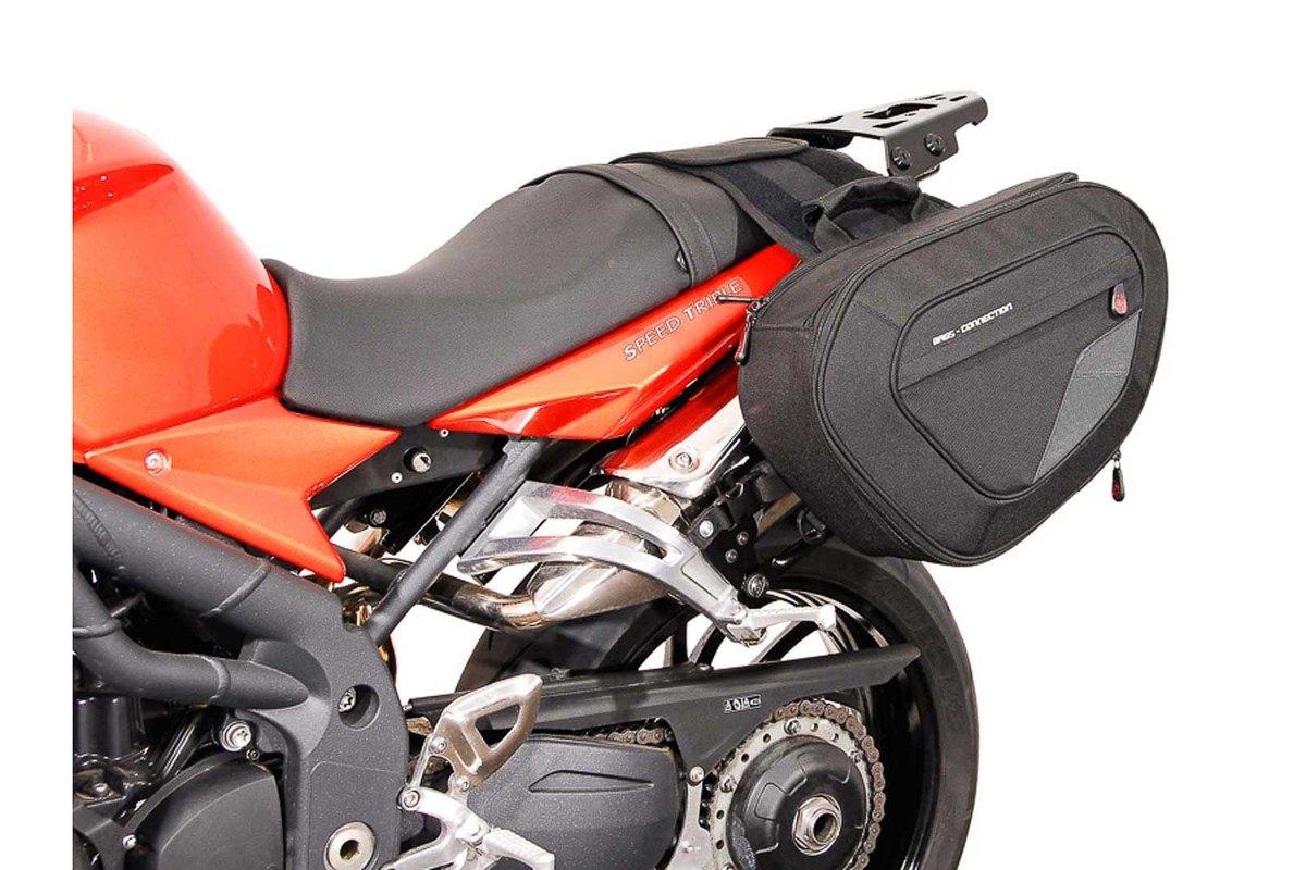 Sacoches Latérales Blaze Pour Triumph Speed Triple 1050 Par Sw Motech