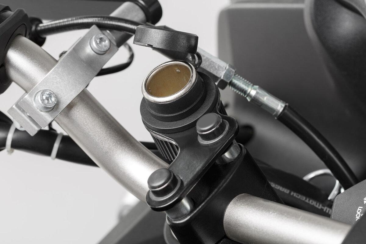 Wassergeschützter Zigarettenanzünder fürs Motorrad, Kabelbaum ...