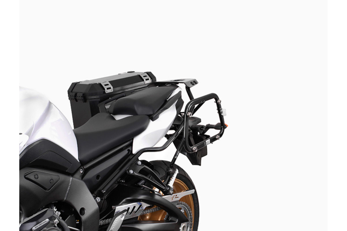 Removable EVO sidecase carrier for Yamaha FZ 8, rugged QUICK-LOCK ...