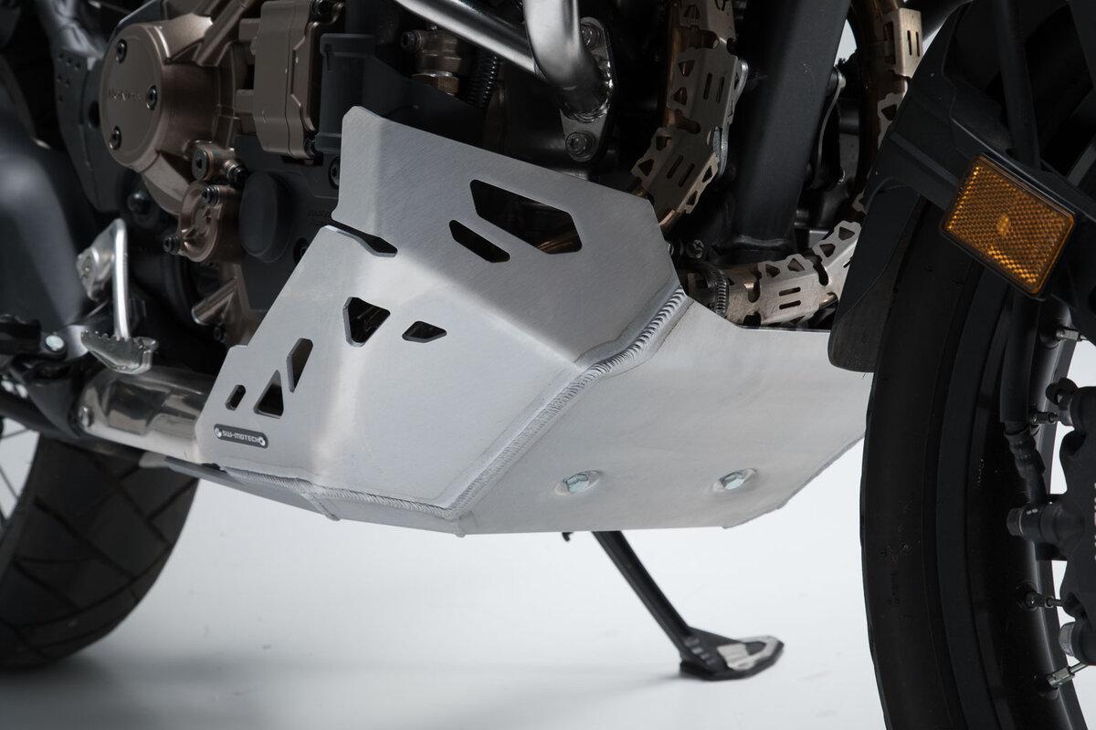 protection du moteur de la qualit en aluminium pour honda crf 1000 l. Black Bedroom Furniture Sets. Home Design Ideas