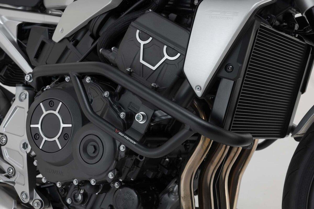 Engine guard black Honda CBF 1000 F Bj 10