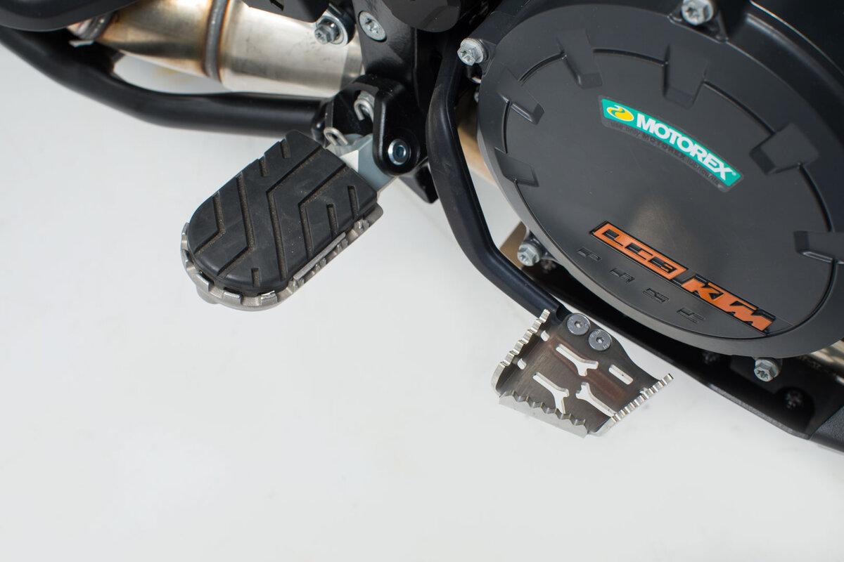 Sw-Motech Fußbremshebel-Verbreiterung Silbern KTM Modelle.