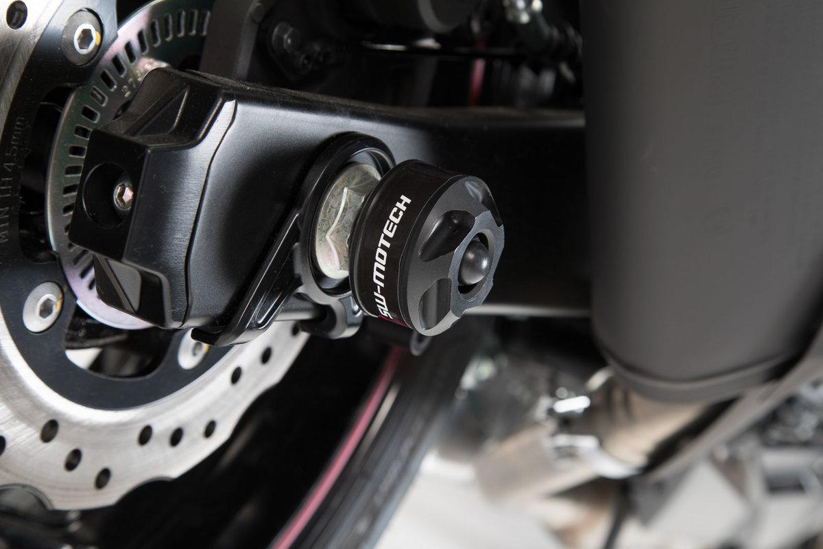 Sturzpads für Hinterachse, Suzuki GSX-S750 - SW-MOTECH