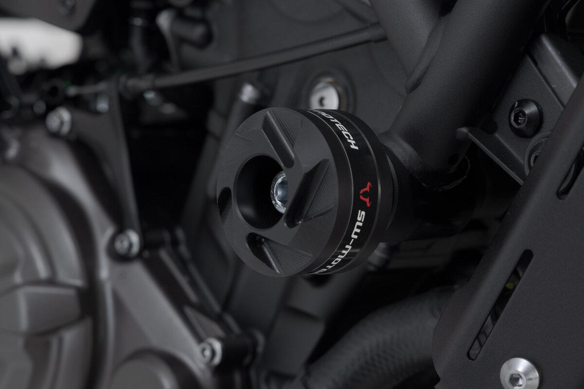 Sturzpads für Yamaha XSR 700 - zuverlässiger Schutz von SW-MOTECH.