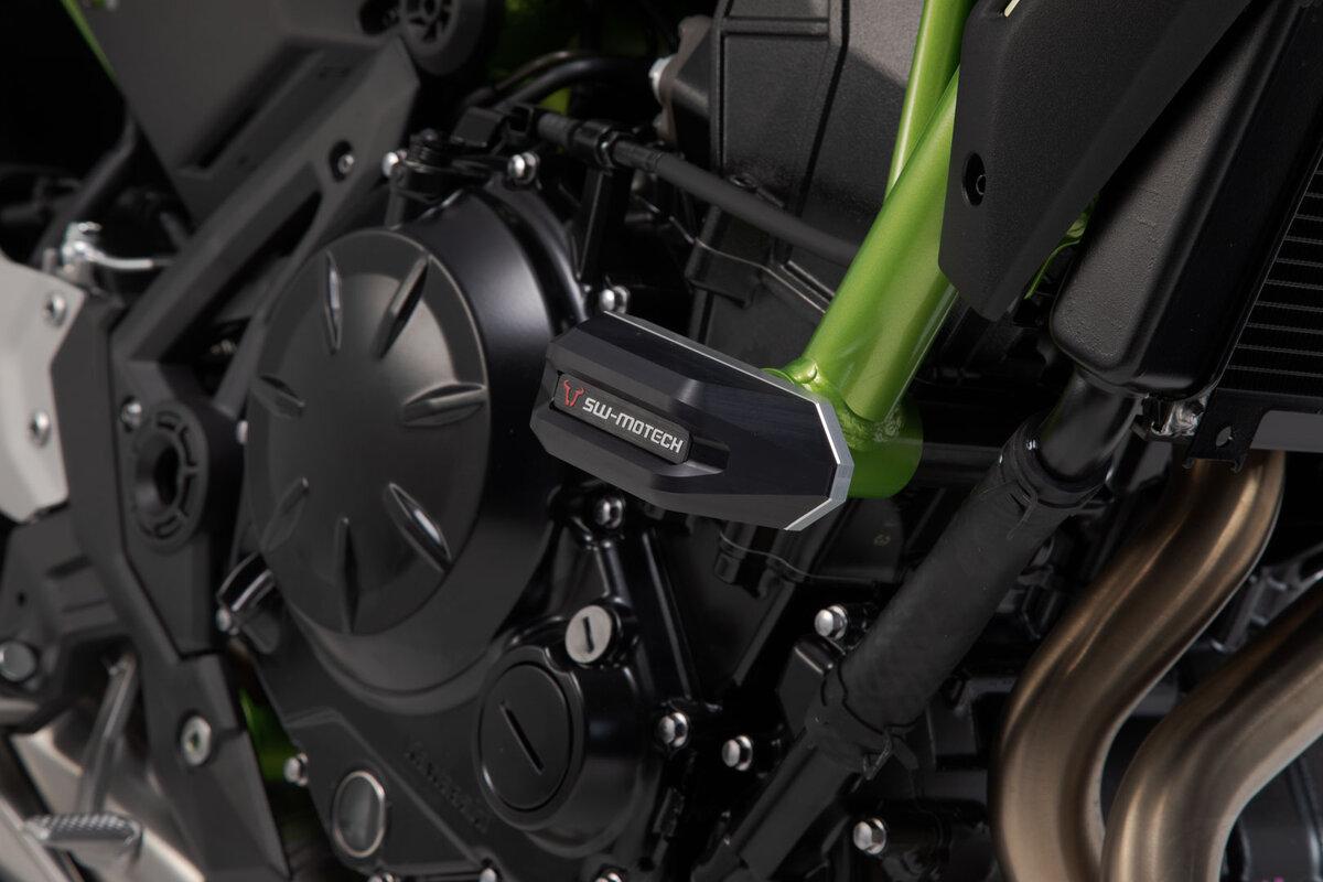 Sturzpads für Kawasaki Z650 (16-) - zuverlässiger Schutz von SW-MOTECH.