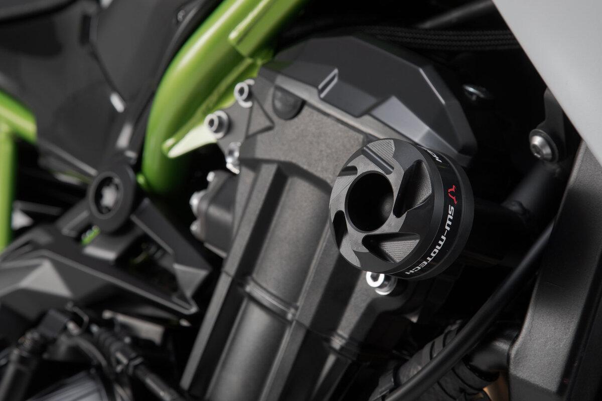 Sturzpads für Kawasaki Z900/Z900RS - zuverlässiger Schutz von SW-MOTECH.