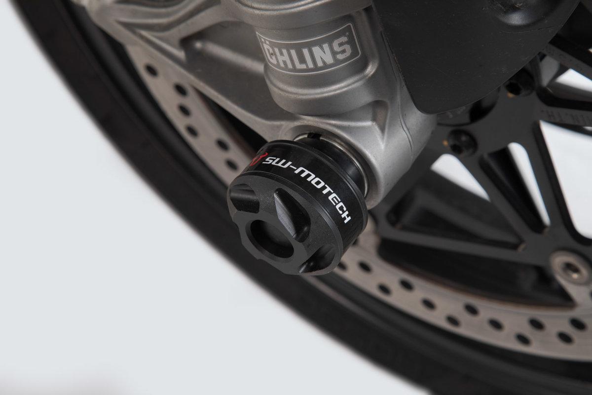 Sturzpad für die Achsen, für Ducati 899 Panigale, XDiavel, von SW ...