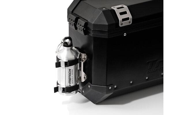 TRAX kit 1 gourde avec support mâle Gourde 0,6 l en acier Inox. Avec support mâle.