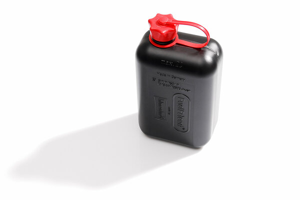 TRAX jerricane 2 l. Plastique. Noir.