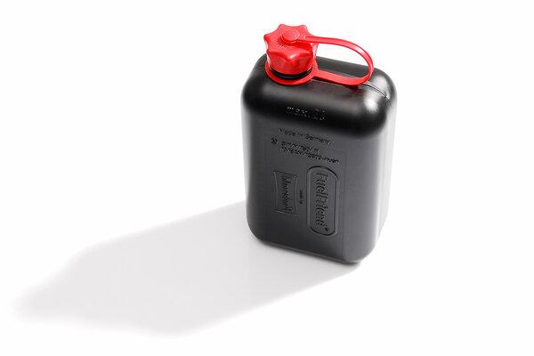 Tanica benzina TRAX 2 l. Plastica. Colore nero.