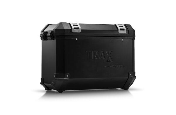 TRAX ION L Side case. Aluminum. 45 l. Left. Black.