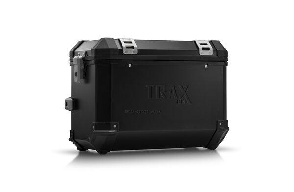 TRAX ION L Valigia laterale. Alluminio. 45 l. Destra. Nero.
