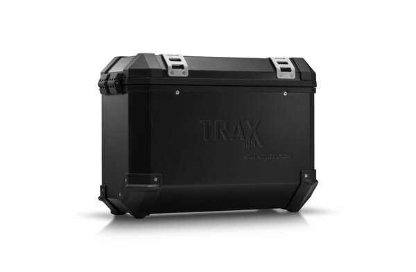 TRAX ION M Side case. Aluminum. 37 l. Left. Black.