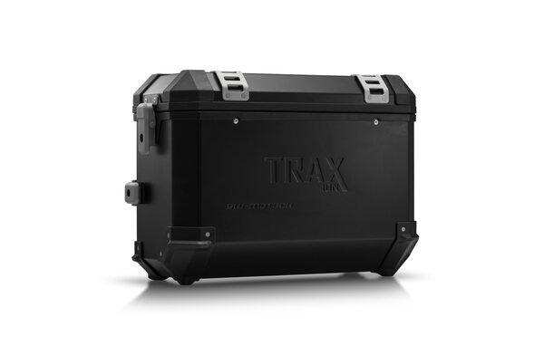 TRAX ION M Maleta lateral. Aluminio. 37 l. Derecho. Negro.