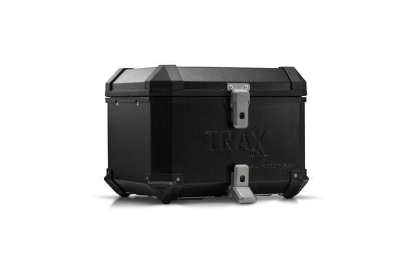 TRAX ION top case Aluminum. 38 l. Black.