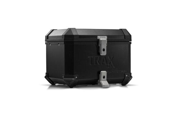 TRAX ION top case Aluminum. 38 l. Black.