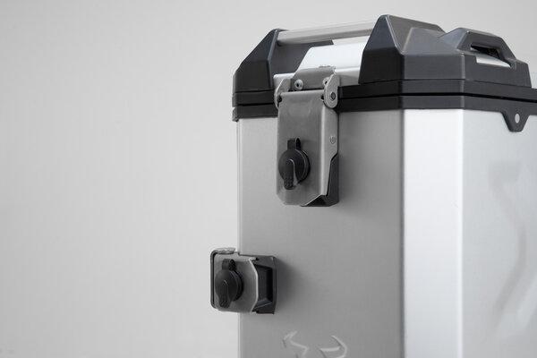 TRAX lock set 2 locks / 2 keys. Simultaneous locking.