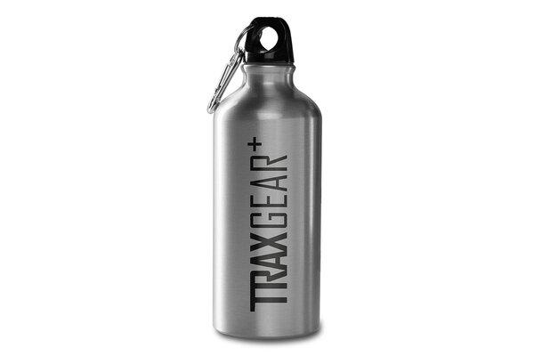 TRAX Flasche 0,6 l. Edelstahl. Silbern.
