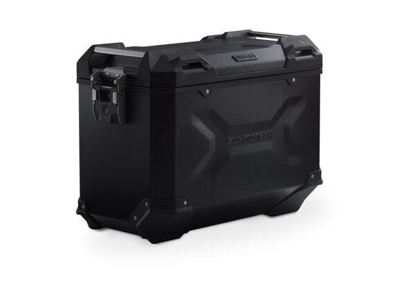 TRAX ADV L Seitenkoffer. Aluminium. 45 l. Links. Schwarz.