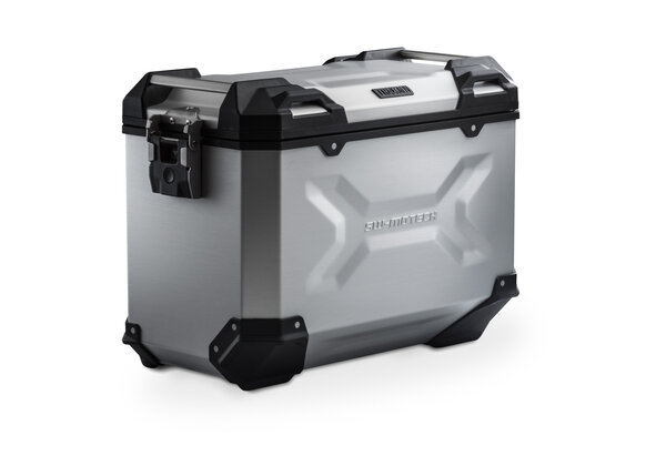 TRAX ADV L Side case. Aluminum. 45 l. Left. Silver.