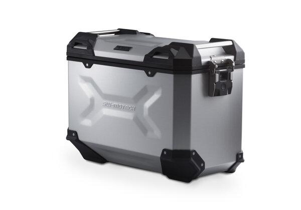TRAX ADV L Side case. Aluminum. 45 l. Right. Silver.