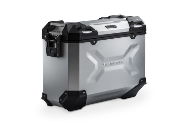 TRAX ADV M Side case. Aluminum. 37 l. Left. Silver.