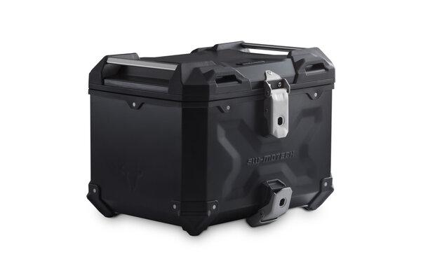 TRAX ADV Topcase Aluminium. 38 l. Schwarz.