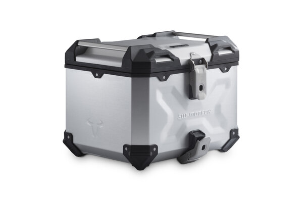 Bauletto TRAX ADV Alluminio. 38 l. Argento.