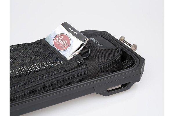 TRAX ADV M/L inner lid bag For TRAX ADV side cases. 5x19x40 cm. Black.