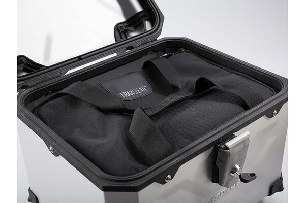 TRAX top case inner bag For TRAX top case. Water-resistant. Black.