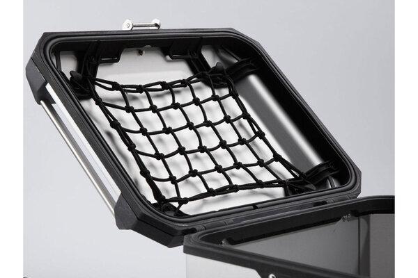 TRAX ADV top case lid net For TRAX ADV top case. Black.