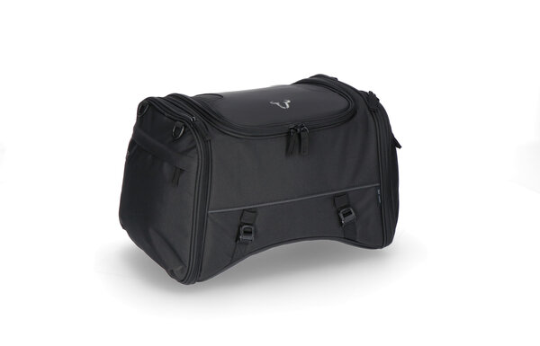 ION M tail bag 26-36 l. Black. 600D Polyester / Soft-Vinyl.