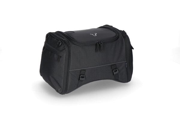 ION M tail bag 26-36 l. Black. 600D Polyester / Soft-Vinyl.