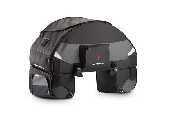 Sacoche de selle EVO Speedpack 75-90 l. Nylon balistique. Noir/Gris.