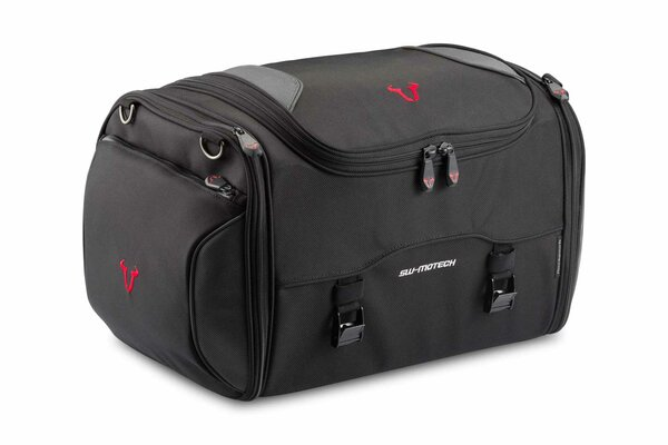 Rackpack tail bag 36-45 l. Ballistic Nylon. Black/Grey.