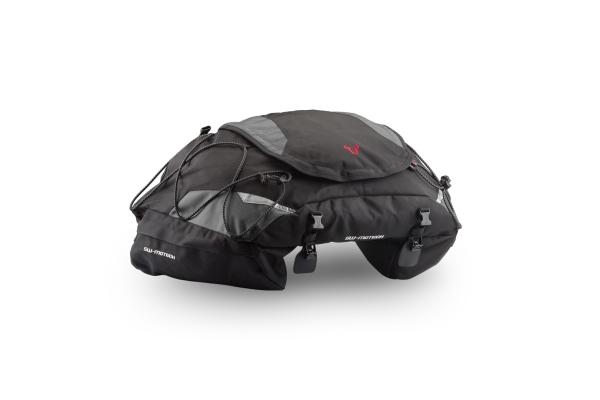 Cargobag Hecktasche 50 l. Ballistic Nylon. Schwarz/Grau.