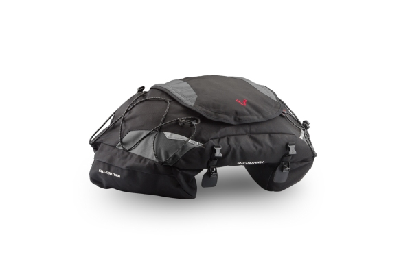 Bolsa trasera EVO Cargobag 50 l. Nylon balístico. Negro/Gris.