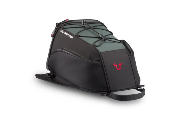 Slipstream tail bag 13 l. Ballistic Nylon. Black/Green.