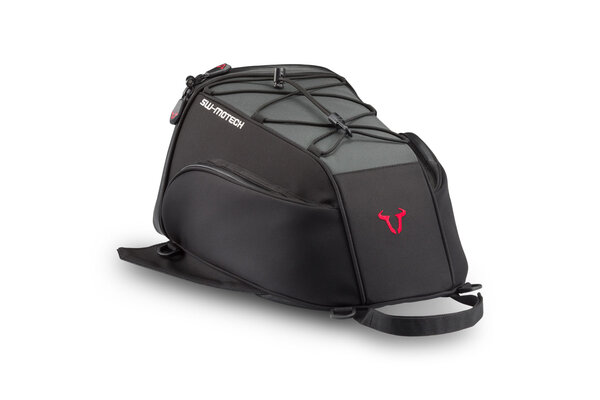 EVO Slipstream tail bag 13 l. Ballistic Nylon. Black/Grey.