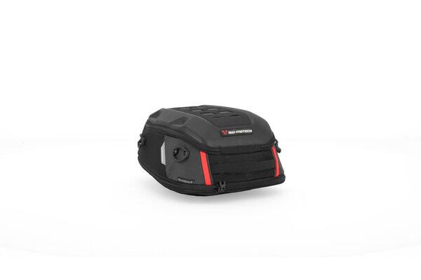 Borsa posteriore PRO Roadpack 1680D Nylon balistico. Nero/Antracite. 8-14 l.
