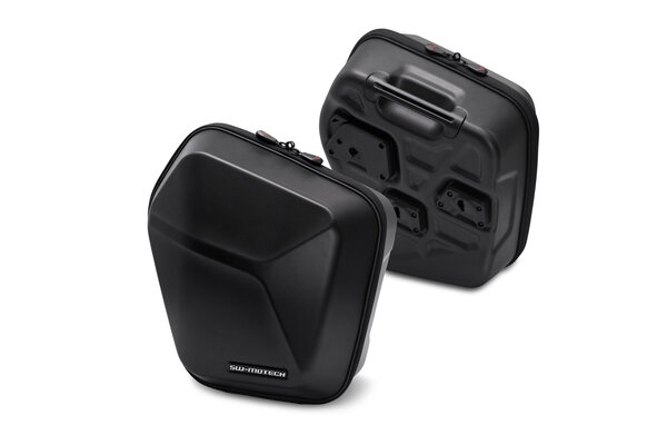 URBAN ABS Seitenkoffer-Set 2x 16,5 l. ABS-Kunststoff. Für SLC Seitenträger.