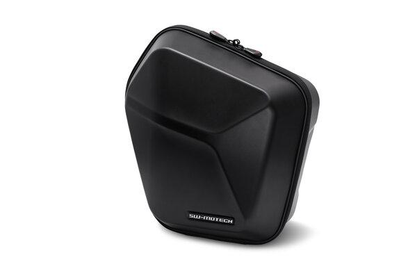 URBAN ABS valigia laterale sinistra 16,5 l. Plastica ABS. Telaio portaborse SLC sx.