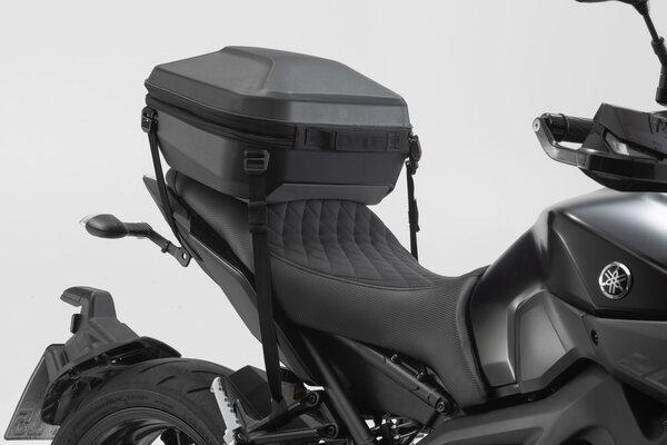 Topcase URBAN ABS 16-29 l. Variante de amarre. Plástico ABS. Negro.