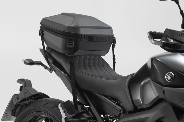 URBAN ABS top case 16-29 l. Lashing option. ABS plastic. Black.