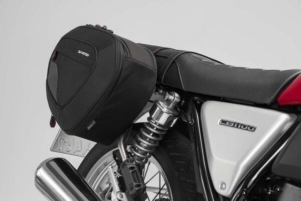BLAZE H Satteltaschen-Set Schwarz/Grau. Honda CB1100 EX (16-).