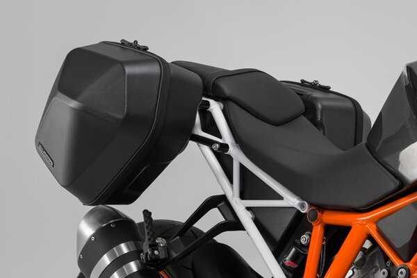 URBAN ABS side case system 2x 16,5 l. KTM 1290 Super Duke R (13-19).